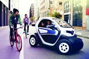 De stadsvoertuigen van morgen zullen veeleer gemotoriseerde vierwielers zijn dan echte personenwagens.