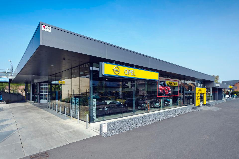Opel belgium breidt business center netwerk uit for Garage opel tulle
