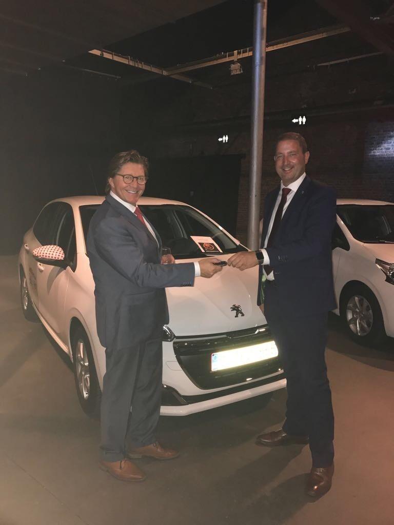 12 Peugeot S 208 Voor Jobfixers Fleet Be