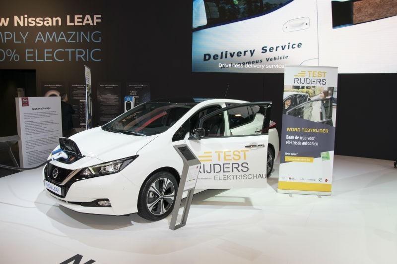 Nissan Leaf Zkt Testrijders Fleet Be