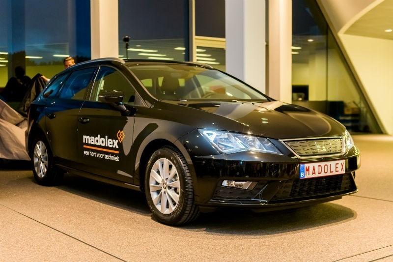 Proximus en madolex rijden met seat for Garage seat belgique