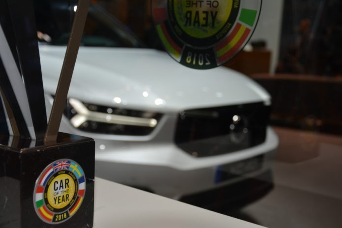 De Volvo Xc40 Is Car Of The Year 2018 Video Fleetbe