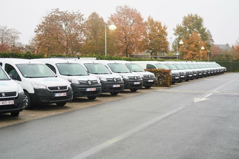 De Eerste 35 Elektrische Bestelwagens Van Engie Zijn Gearriveerd