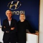 Hyundai Kaat Van Severen en Kris Meylemans
