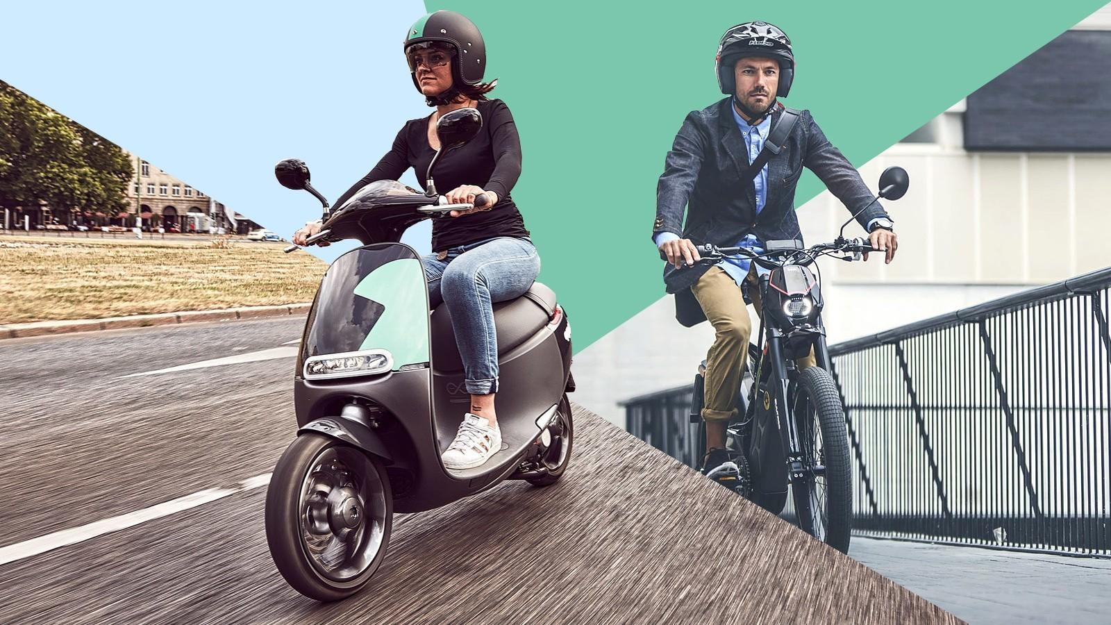 speed pedelec bromfiets scooter