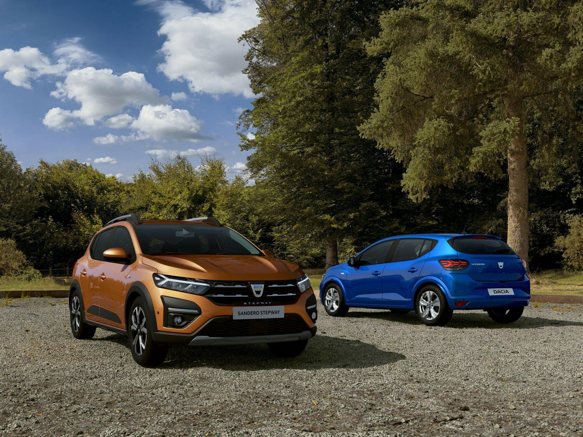 Deze afbeelding heeft een leeg alt-attribuut; de bestandsnaam is Dacia-Sanderp-en-Sandero-Stepway.jpg