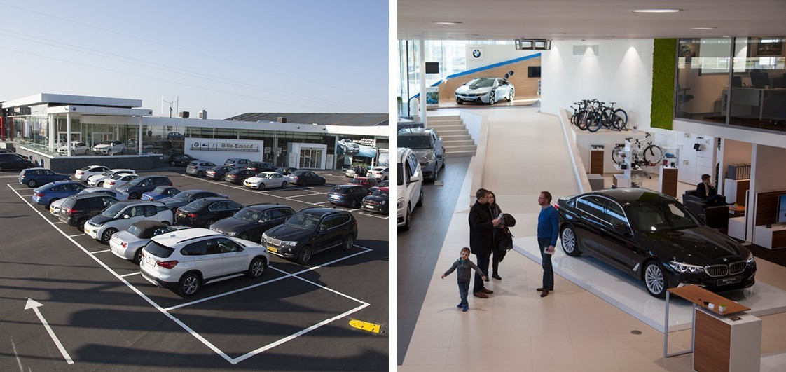 Bilia emond fleet for Garage mini luxembourg