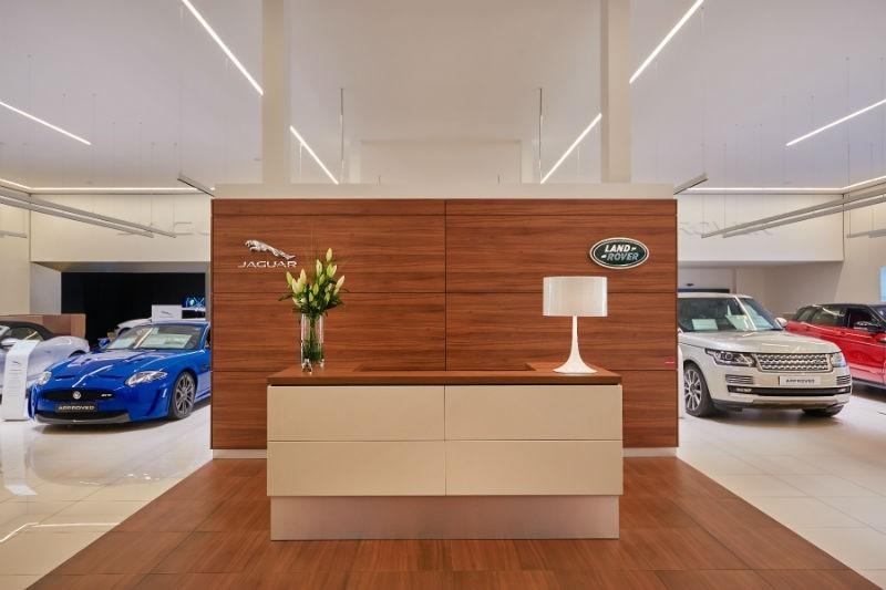 Jaguar Land Rover intérieur